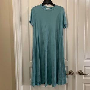 Flamingo Urban Blue T-Shirt Dress